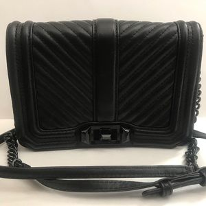 Rebecca Minkoff Chevron Leather Bag